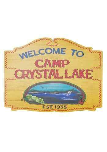 Friday the 13th - Camp Crystal Lake Sign