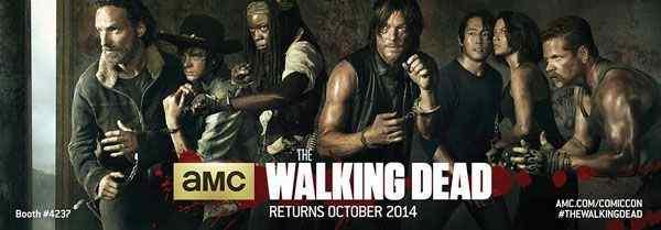 The Walking Dead Season 5 banner