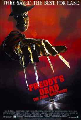 Freddy's Dead The Final Nightmare movie poster