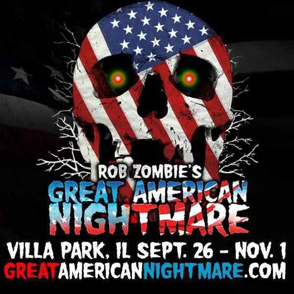 Rob Zombie's Great American Nightmare Chicago poster 3