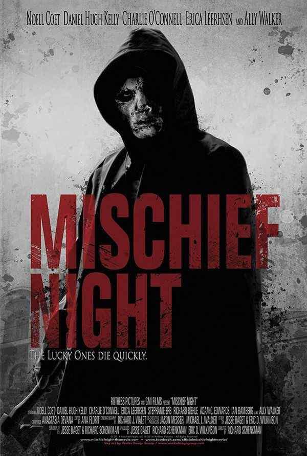 Mischief Night movie poster 2