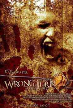 Wrong Turn 2 movie poster
