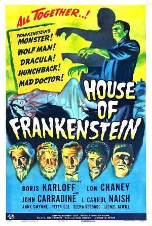 House of Frankenstein movie poster