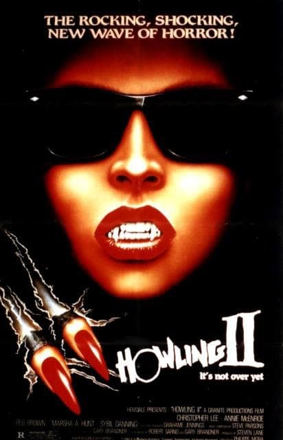 The Howling 2 movie poster