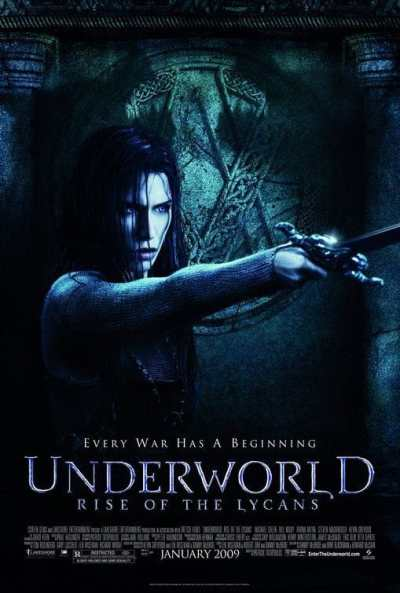 Underworld Rise of the Lycans movie poster