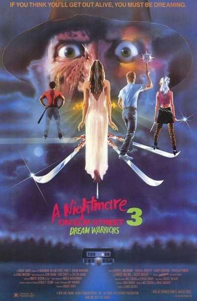 A Nightmare on Elm Street 3 movie poster