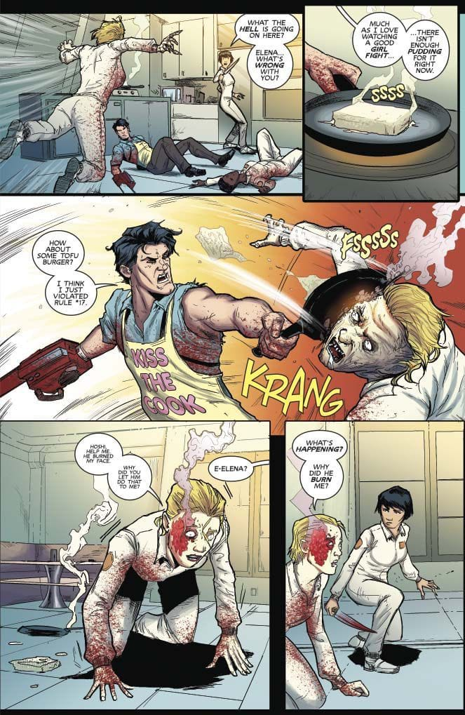 Comic Crypt: Army of Darkness #3 Preview - Horror Society