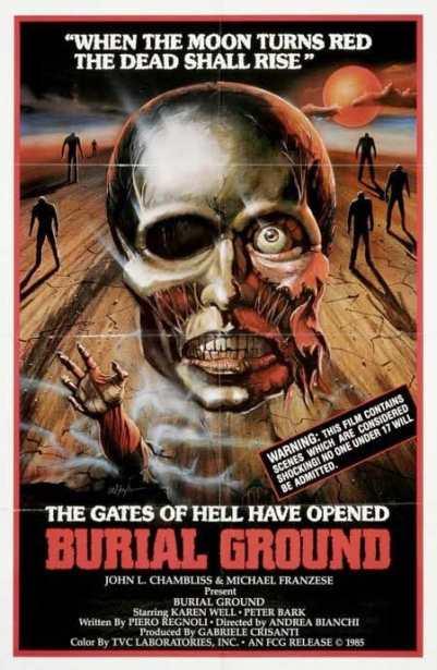 Burial Ground movie poster