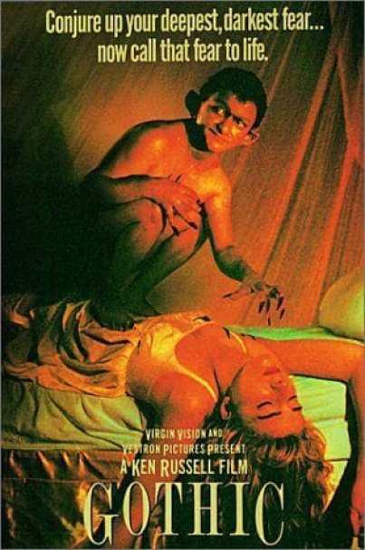 Gothic movie poster