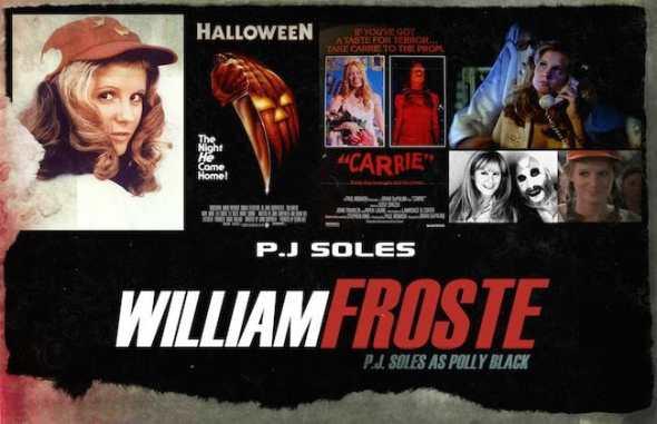 P.J. SOLES- WILLIAM FROSTE CASTING PHOTO