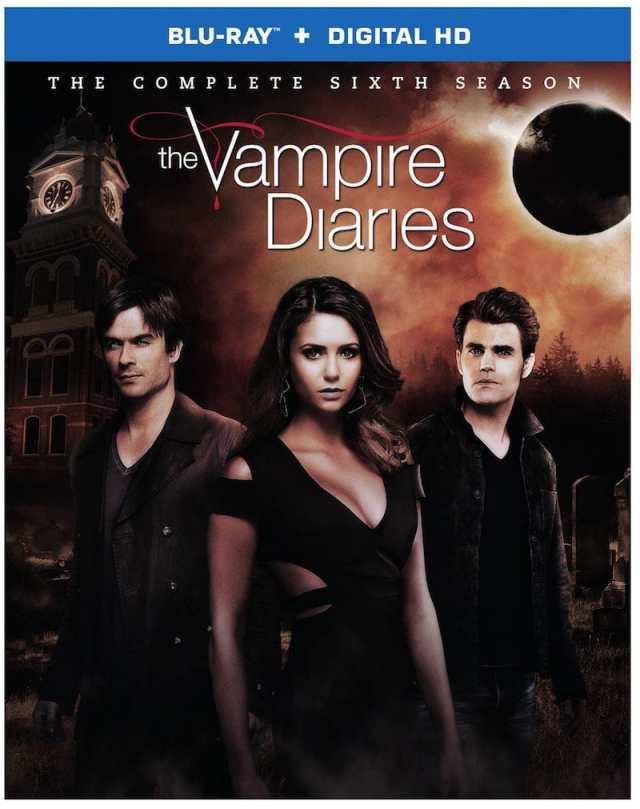 The Vampire Diaries Blu