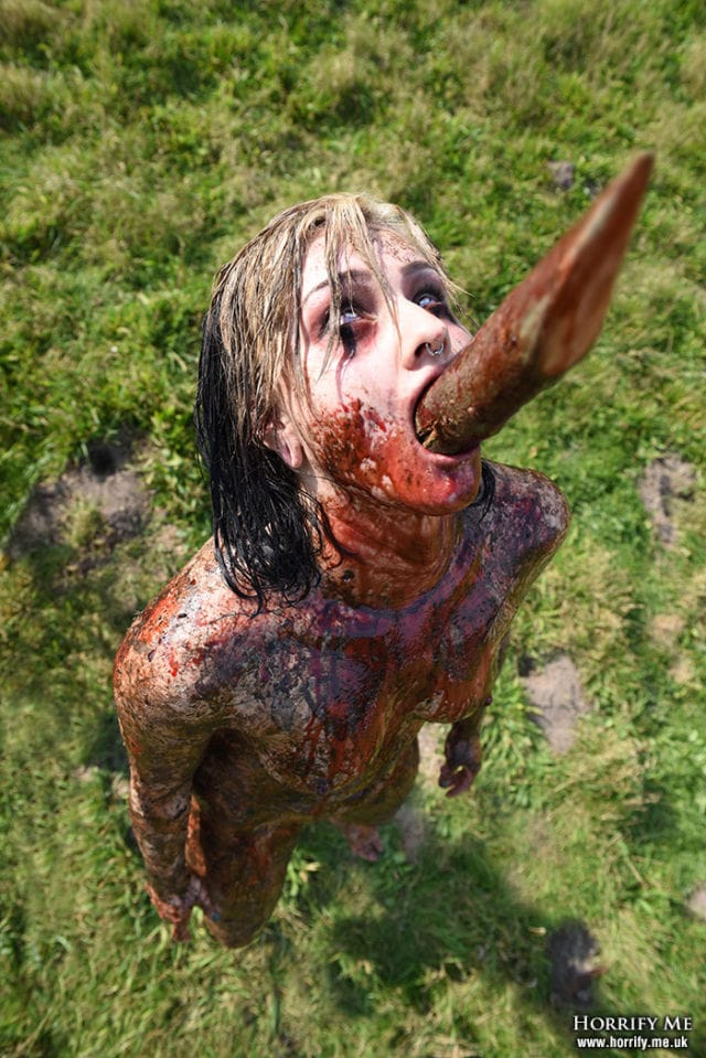 HORRIFY ME releases controversial CANNIBAL HOLOCAUST tribute shoot