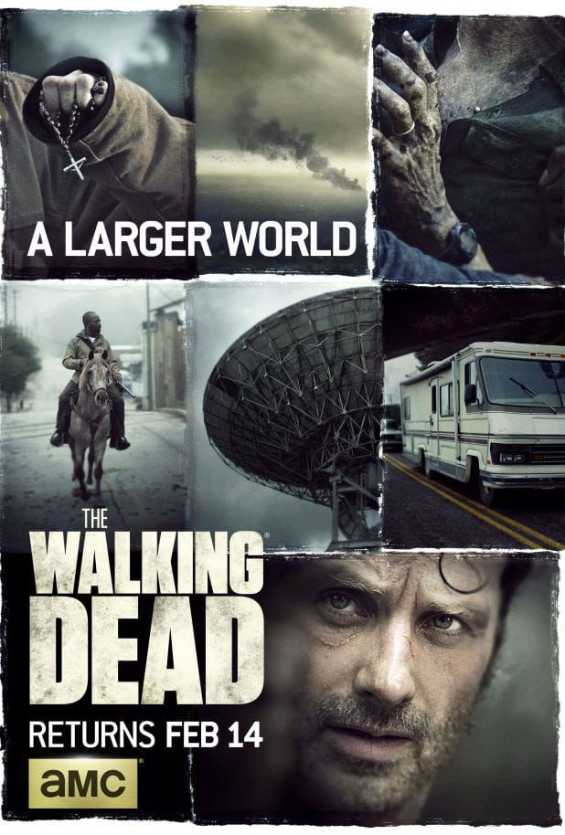 The Walking Dead Season 6.2 Premiere Poster