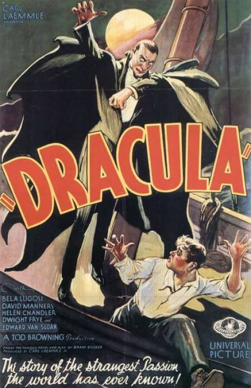 Dracula 1931 movie poster 2