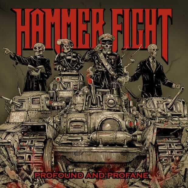 Hammer Fight profound and profane cover