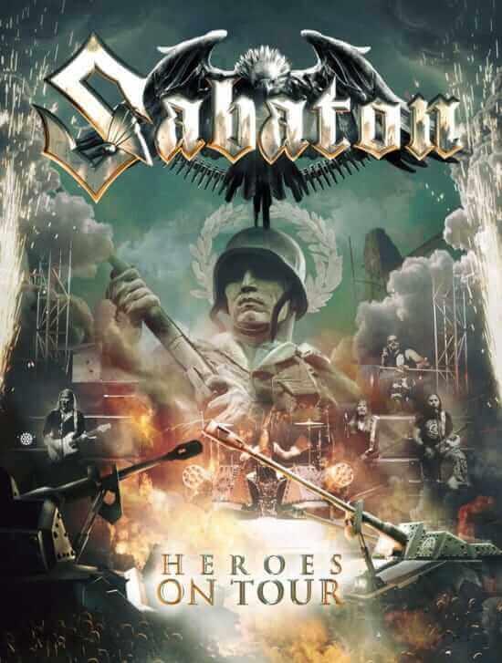 Sabaton heroes on tour cov