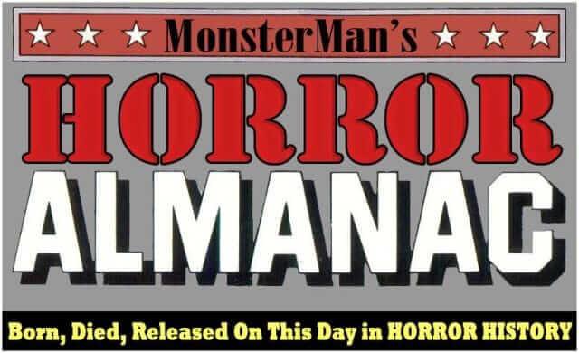 Monsterman's Horror Almanac