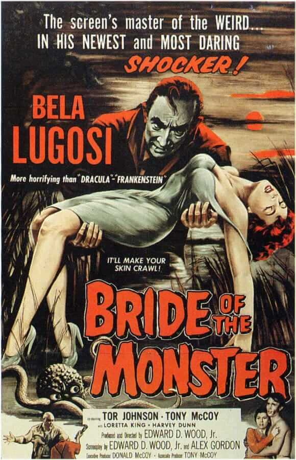 Bride of the Monster movie poster