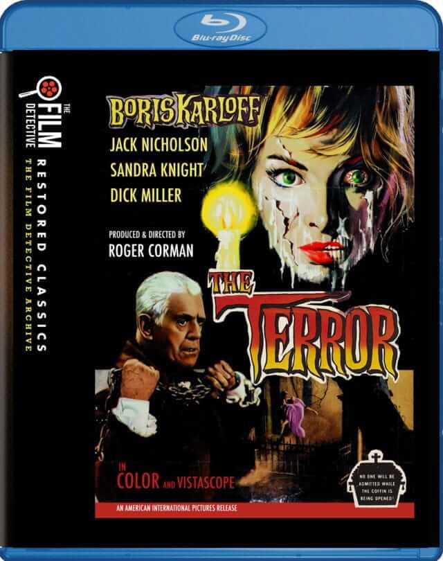 The Film Detective- The Terror - Blu-ray Box Art