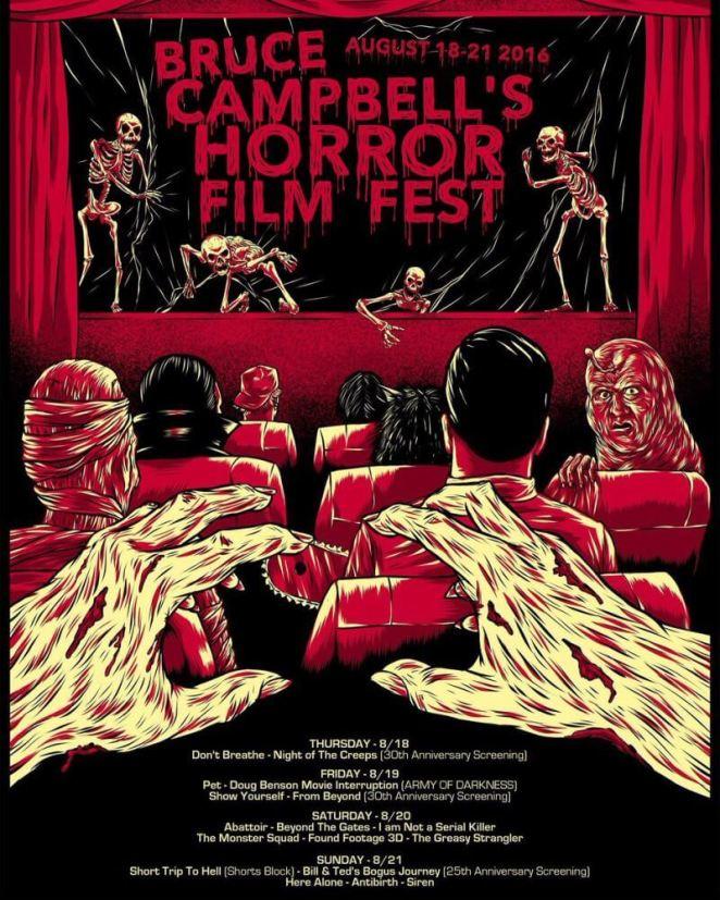 Bruce Campbell's Horror Film Festival 2016
