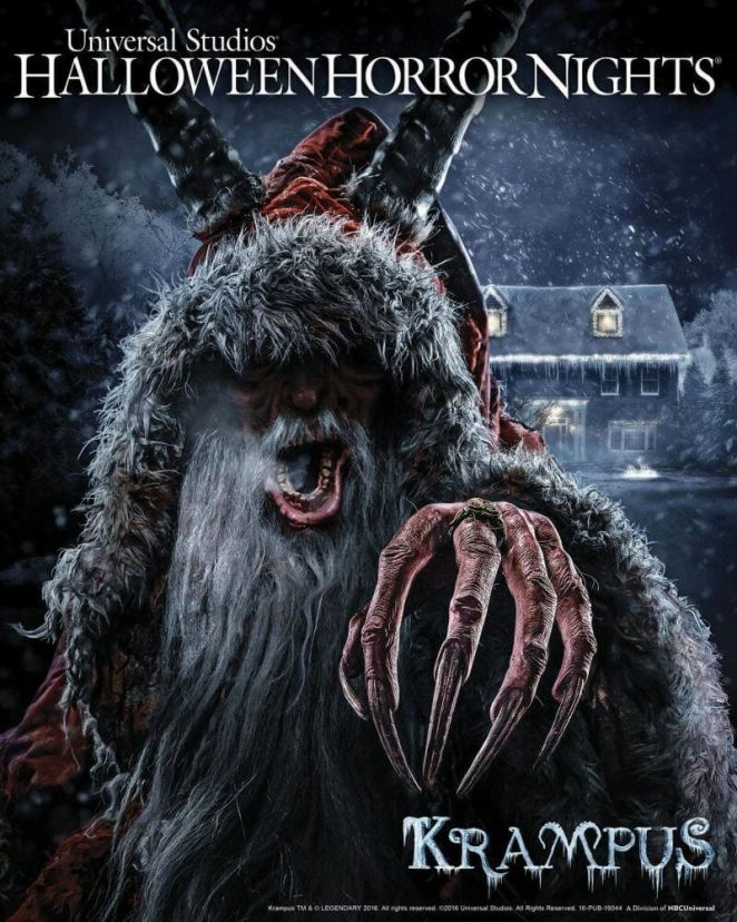 Halloween Horror Nights - Krampus Maze