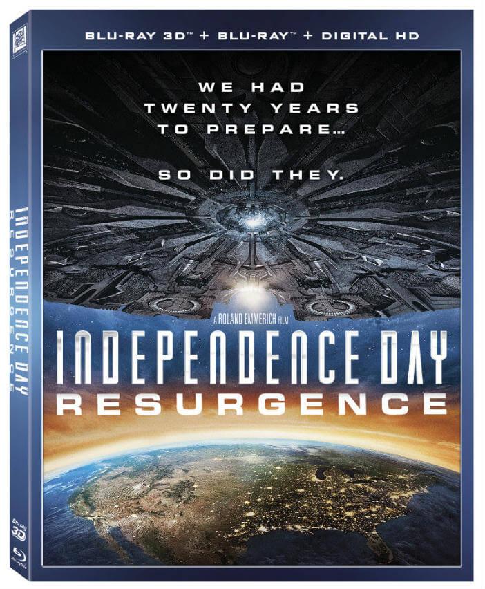 Independence Day Resurgence Blu