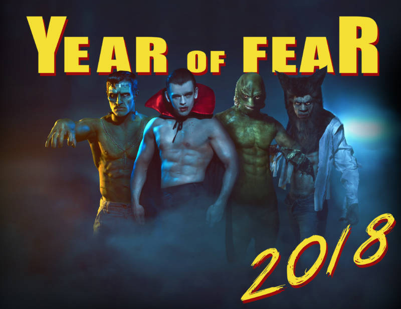Ama Lea's Sexy, Year of Fear Calendar Returns For 2018 with Male & Female Editions.