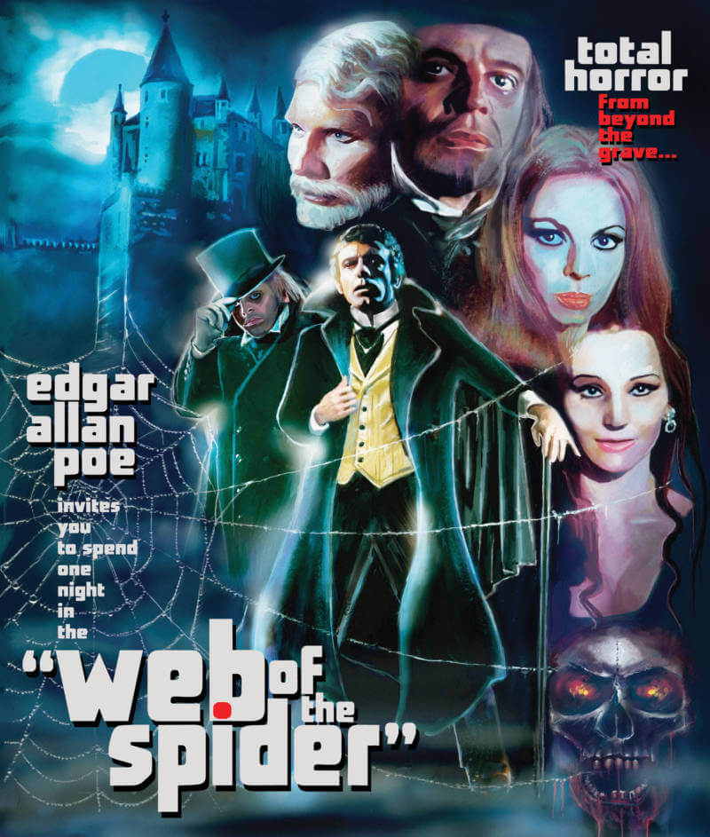 Garagehouse Pictures to bring WEB OF THE SPIDER, the classic Italian gothic horror ghost story directed by Antonio Margheriti to Blu-ray in October