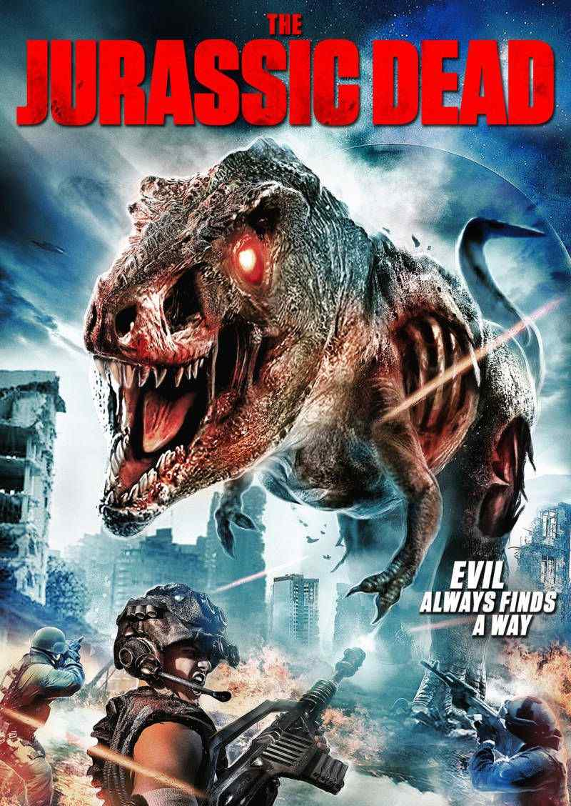 Z-Rex leads the Zombie Dinosaurs in new trailer for THE JURASSIC DEAD