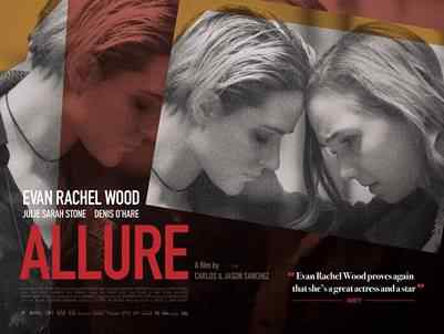 EUREKA NEWS RELEASE: ALLURE (Starring EVAN RACHEL WOOD)