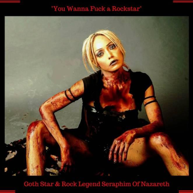 Goth Rockstar Seraphim of Nazareth Returns with New Single & Album.