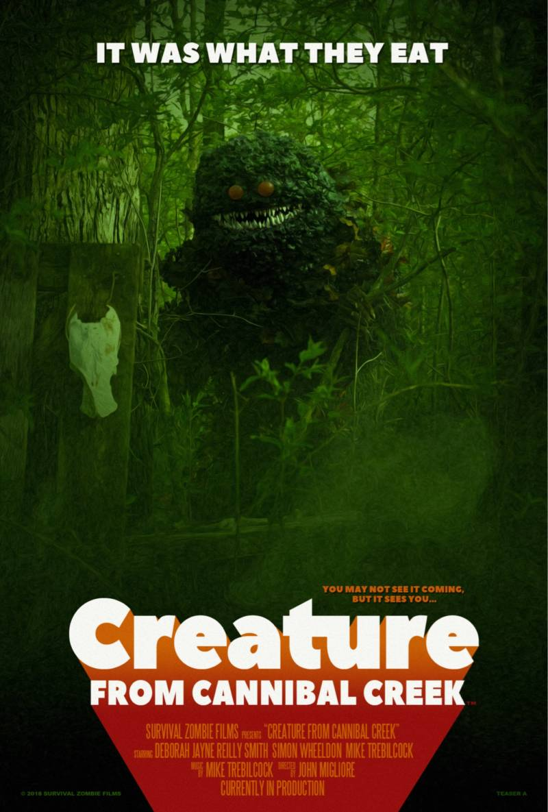 Check Out the First Trailer for Creature from Cannibal Creek
