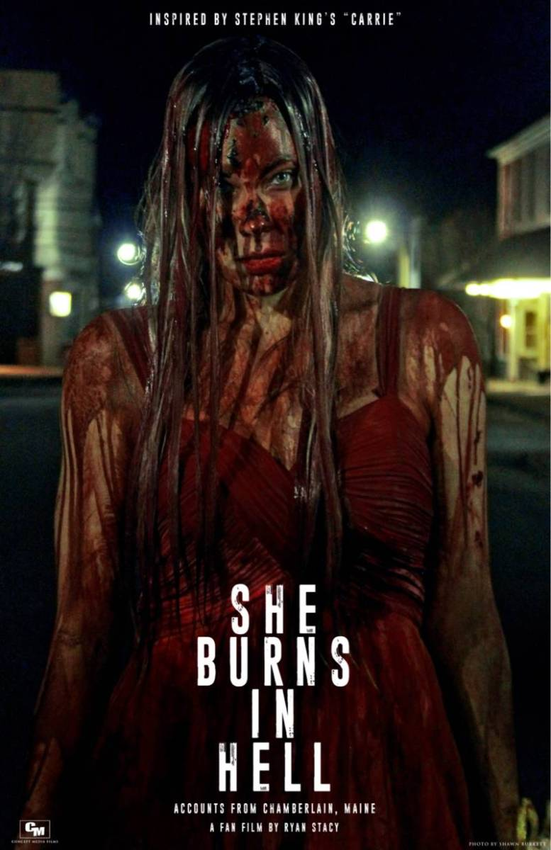 CARRIE Fan Film SHE BURNS IN HELL Gets a New Poster