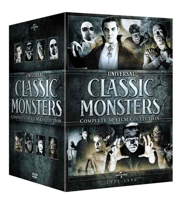 Blu Review - Universal Classic Monsters Complete 30 Film Collection