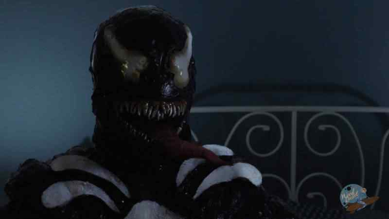 VENOM USES HIS TONGUE IN THE VENOM XXX PARODY