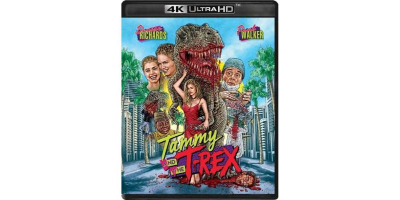 Blu Review - Tammy and the T-Rex (Vinegar Syndrome) | Horror Society