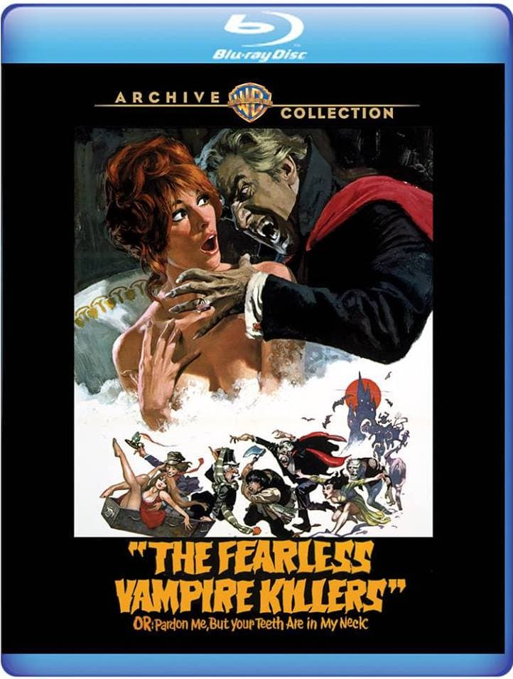 Blu Review - The Fearless Vampire Killers or: Pardon Me, But Your Teeth are in My Neck (Warner Archives) | Horror Society