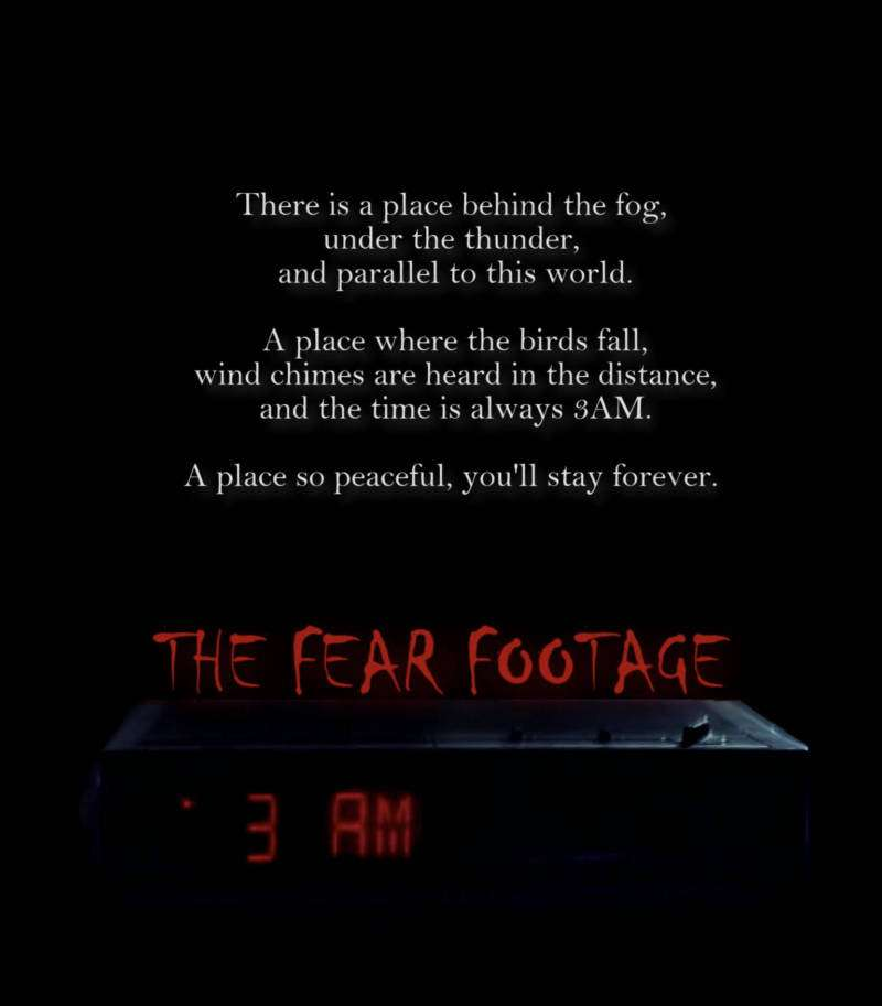 The Fear Footage 3AM is Now Available! - Horror Society