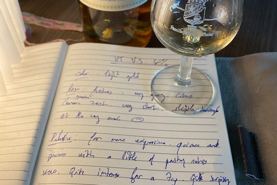 Tasting Notes zoom cognac Hors d'Age