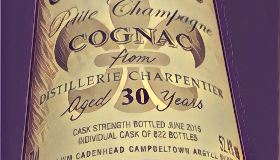 Cadenhead's 30yo Petite Champagne 52,4 Alternatif 2