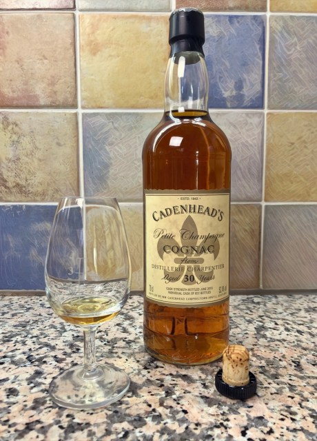 Cadenhead's 30yo Petite Champagne 52,4 Alternatif 3