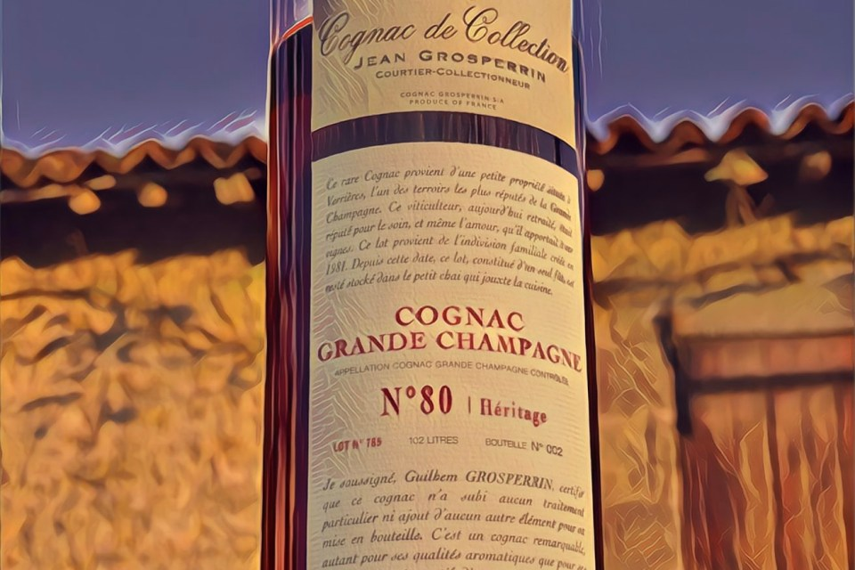 Grosperrin Grande Champagne 80 58,1% tasting notes 2