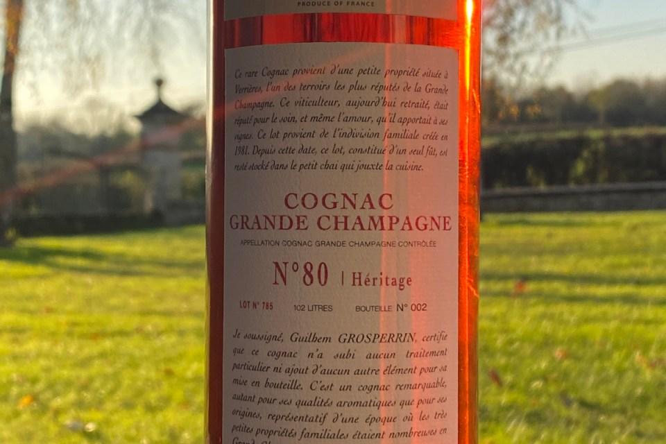 Grosperrin Grande Champagne 80 58,1% tasting notes 3