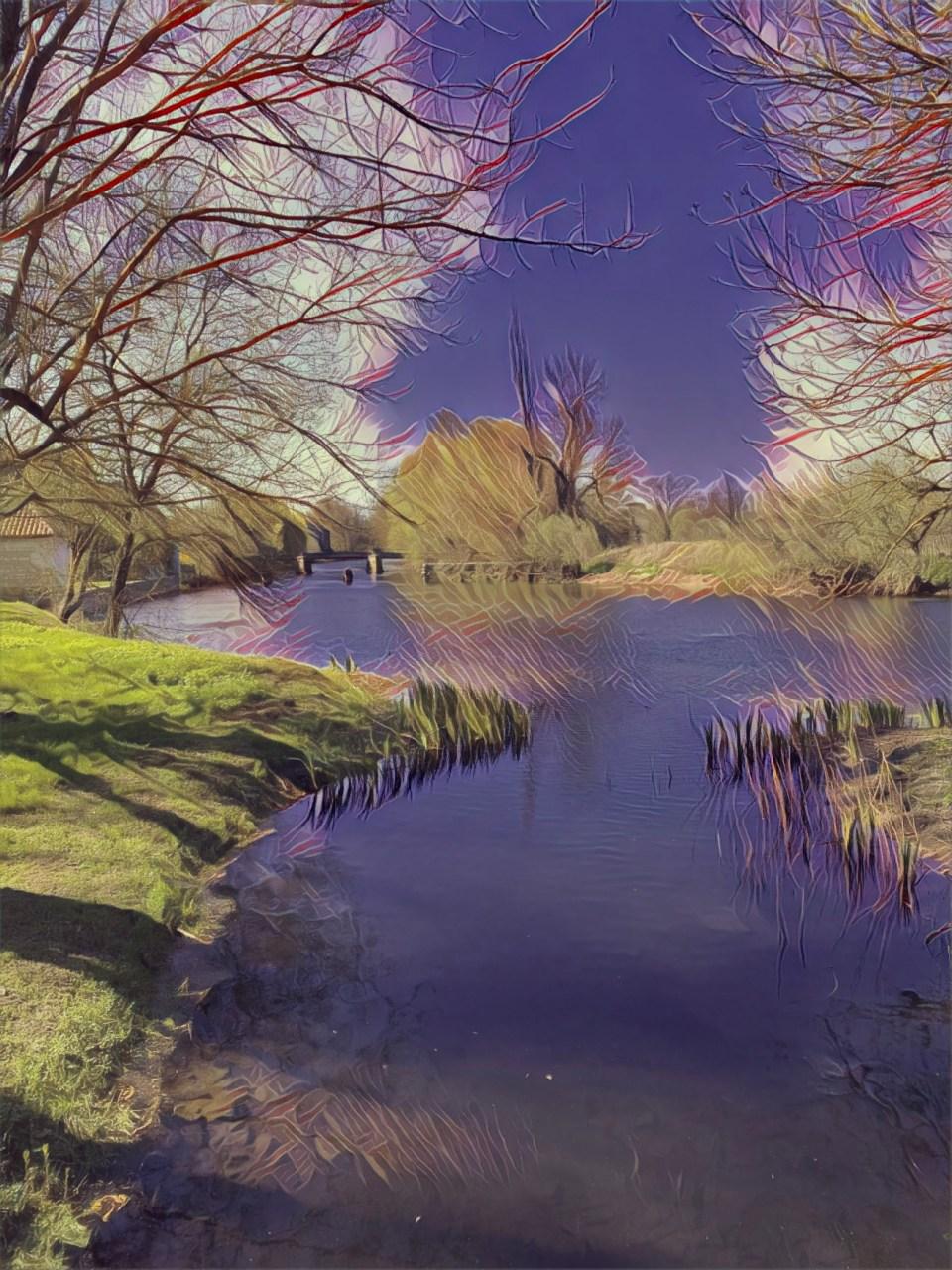Delamain Vesper Charente river landscape hors d'age tasting notes