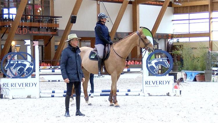 la preparation du cheval de sport avec