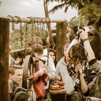 Equine Educational Programme - saddling up demo