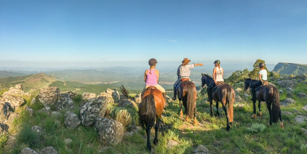 Riding at Kaapsehoop Horse Trails