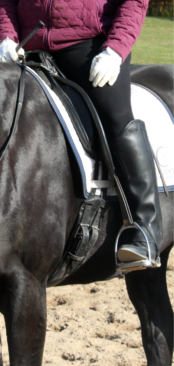 Heel Healing: Here's An On-the-Horse Leg Stretching Exercise