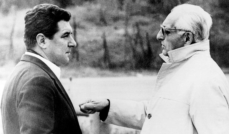 Ferrari con Franco Gozzi