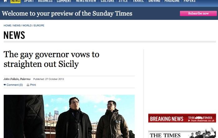 Sunday Times Crocetta
